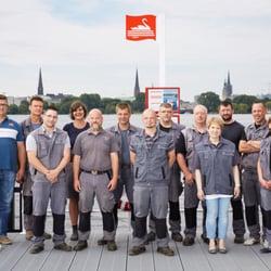 Hausmeister- und Gartenteam 2014
