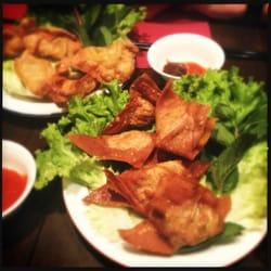 Raviolis grillés porc et crevettes