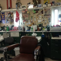 Old Spanish Trail Barber Shop, Daphne,? by David F.