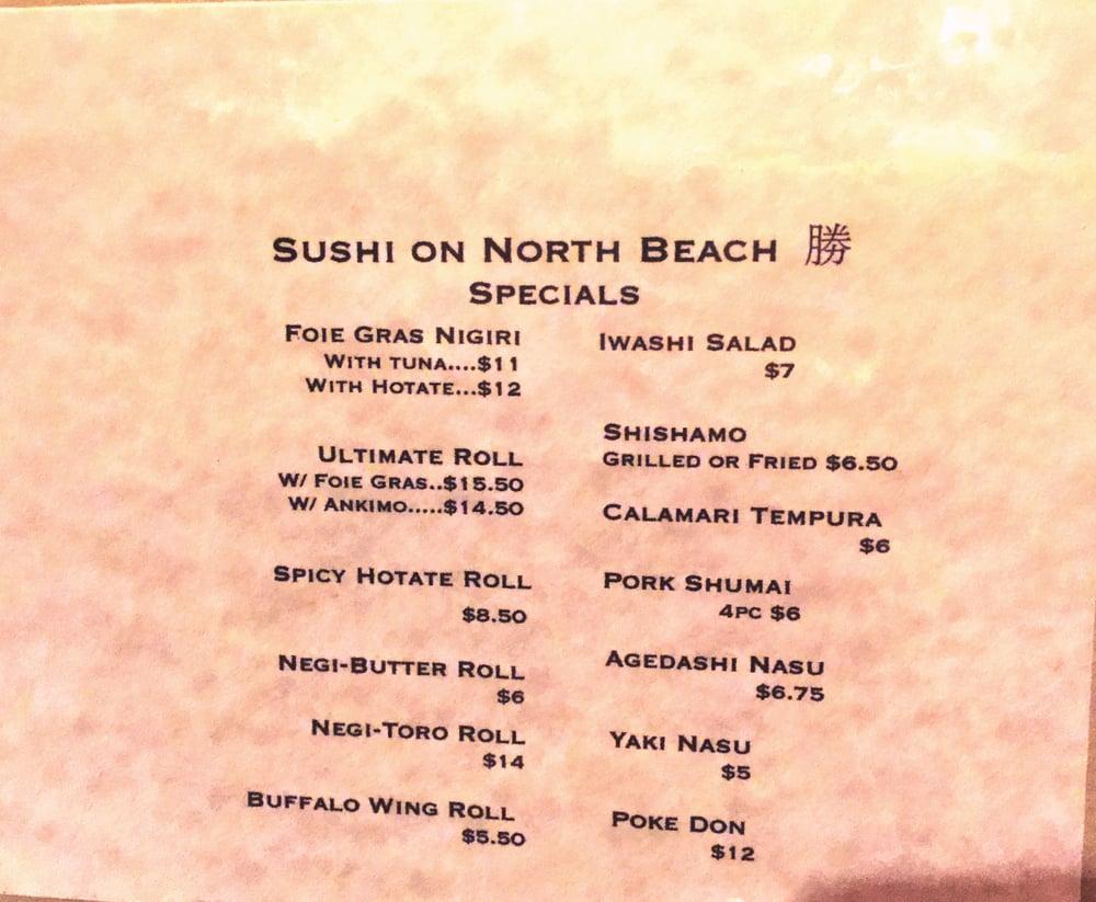 Sushi On North Beach San Francisco Ca