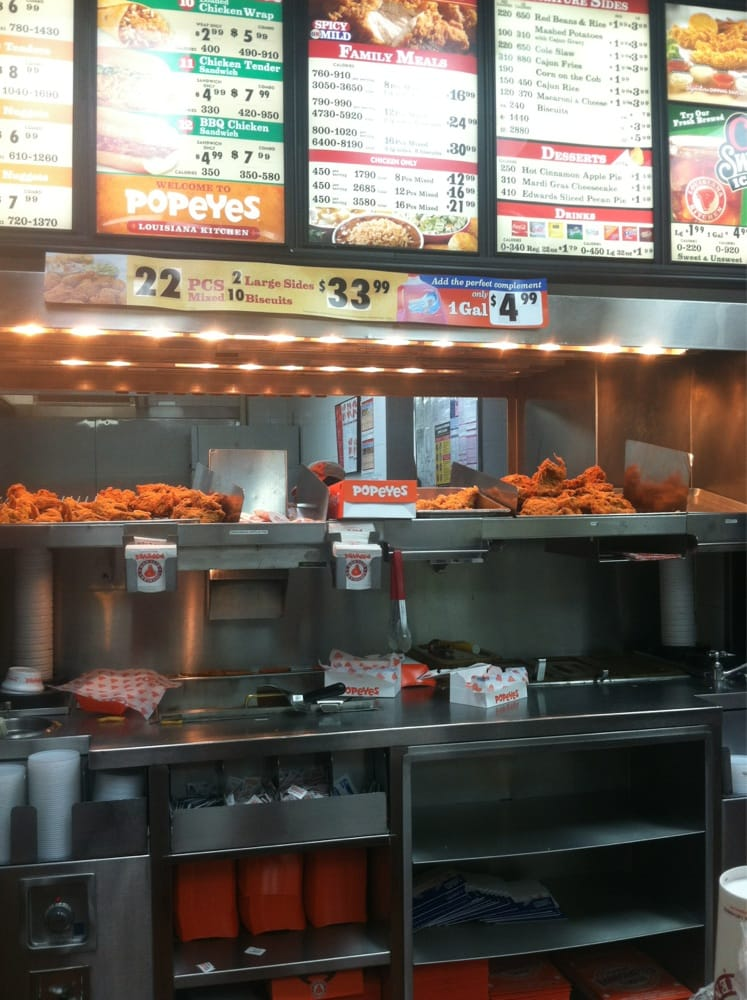 Popeyes takeaway fast food harlem manhattan ny for Harlem food bar yelp