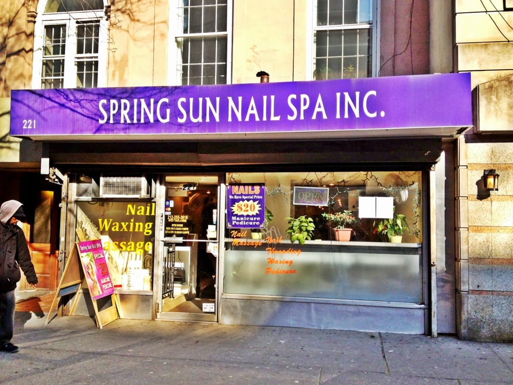 Spring sun nail spa nail salons chelsea new york ny for 14th avenue salon