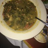 Apres Diem - Atlanta, GA, United States. Homemade lentil soup with spinach, beans and lemon #warmandtoasty #yummy