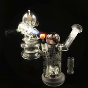 Angie's Boutique - Munny torch lighting up a Hitman Glass/ Pakoh/ Mike Gong Hammerhead - Los Angeles, CA, Vereinigte Staaten