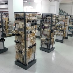 Burlington Coat Factory - Concord, CA, United States. Huge accessories department, organized