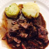 Boeuf Bourguignon a l'Epineuil - Traditional French dish from the region