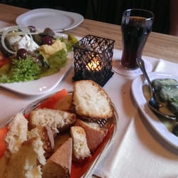 Mezze sampler plate (for 2).. could feed…