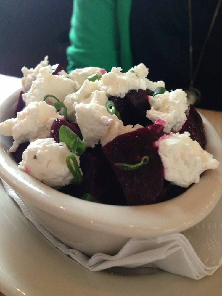 ... , VT, United States. Sooo fresh. Beets and chèvre goat cheese
