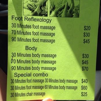 Foot Spa Reflexology Arlington Tx