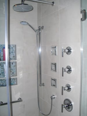 Dennis Installed All Of The Plumbing Fixtures As Well As