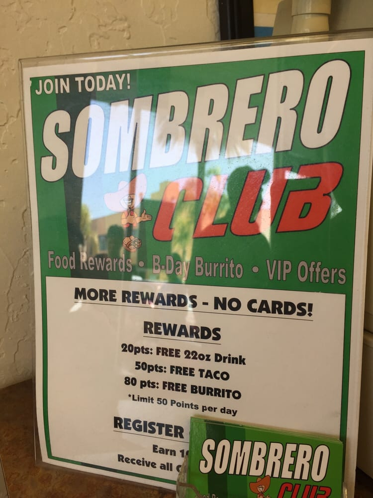 Sombrero Mexican Food Imperial Beach Ca