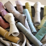 Pick up free sample fabrics from our…