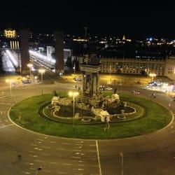 Plaza España desde la terraza