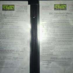 Iota Club And Cafe Menu