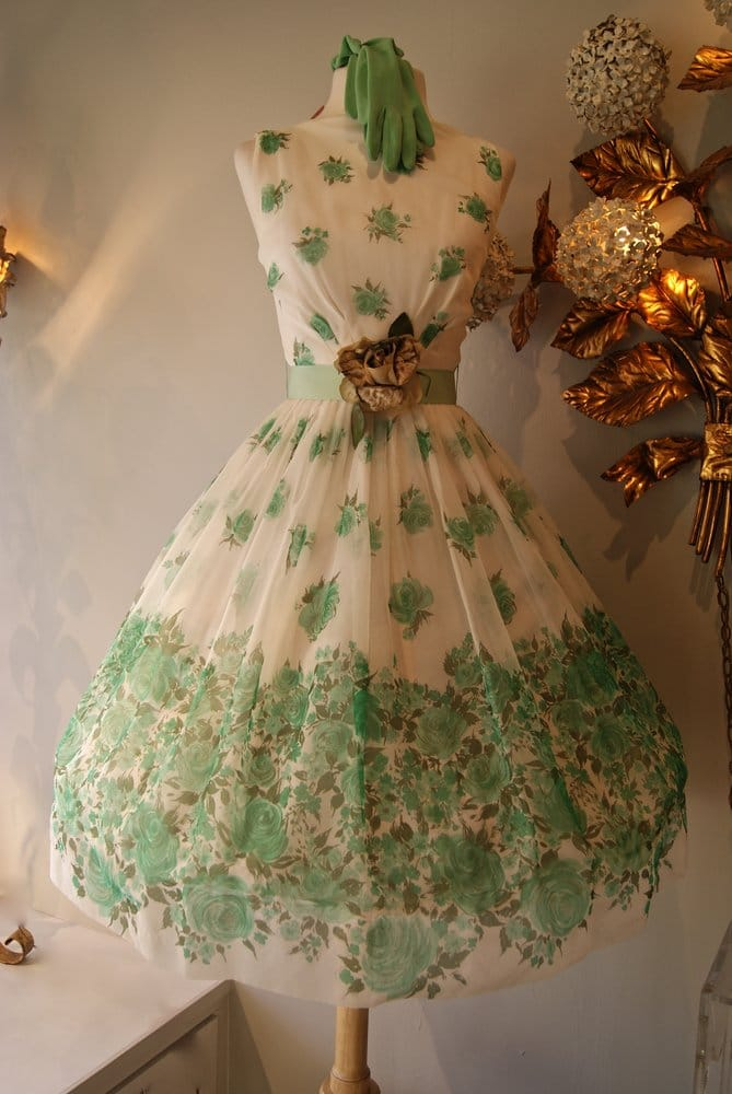 floral dress early 60 s yelp