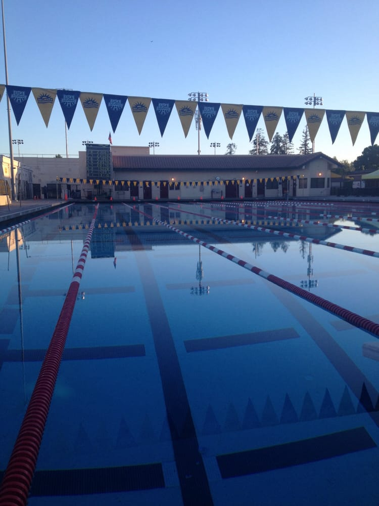 Sunnyvale Swim Club - Santa Clara, CA, United States. Fremont High School pool before the April swim meet