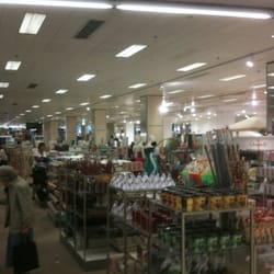 One of the housewares departments