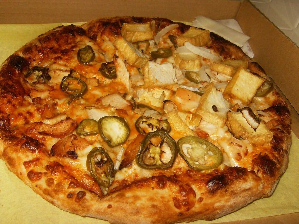 Thai Curry Pizza Long Beach
