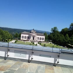 Ausblick von der Panorama Terrasse