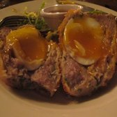 Scotch Egg, interior