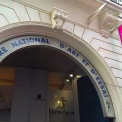 Devanture du Lucernaire.