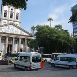 One of the shuttle stops for the Cristo…