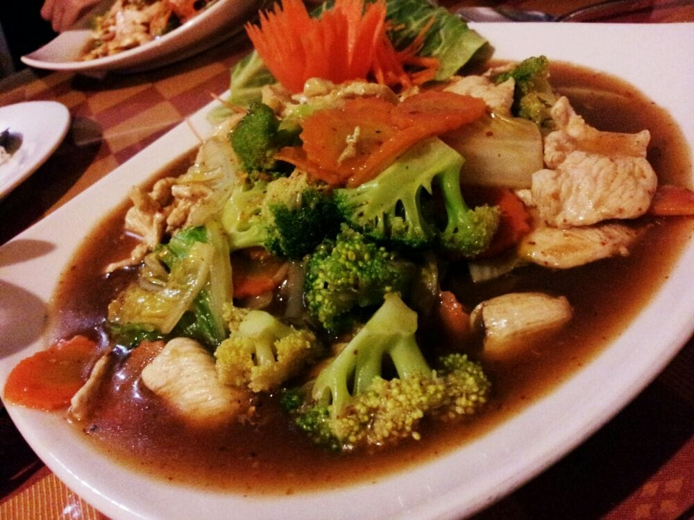 Bangkok Cafe Menu Greensboro Nc