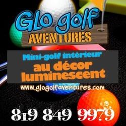 Mini golf coaticook glo golf aventures mini golf for Golf interieur quebec