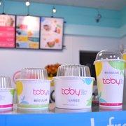 TCBY - Cup sizes - Durham, NC, Vereinigte Staaten