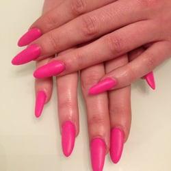 Pink Daisy Nail Polish