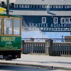 Emerald City Trolley logo