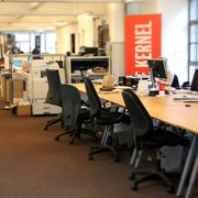 This is another office where we did carpet cleaning (it is based in Central London, Kensington and Chelsea).