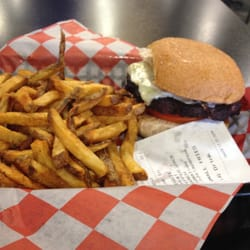 Wholly Cow Burgers, Rings & Things - Black bean burger - Abilene, TX, Vereinigte Staaten