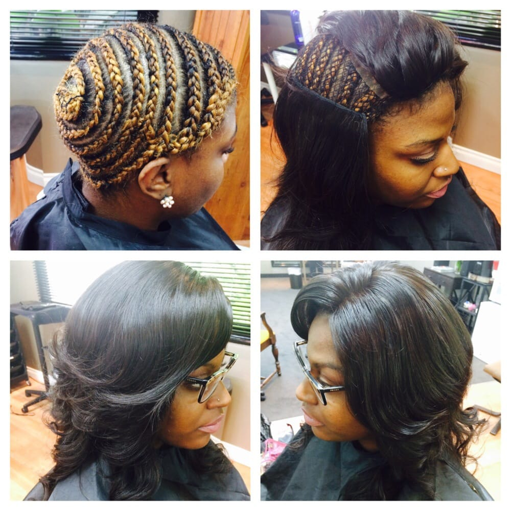 Full Head Curly Sew In   hairstylegalleries.com