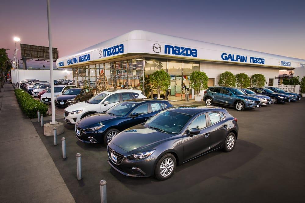 Galpin Mazda Car Dealers Van Nuys Van Nuys Ca