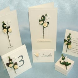 Wedding Stationery by Mary Shakir, Worcester Park, Surrey