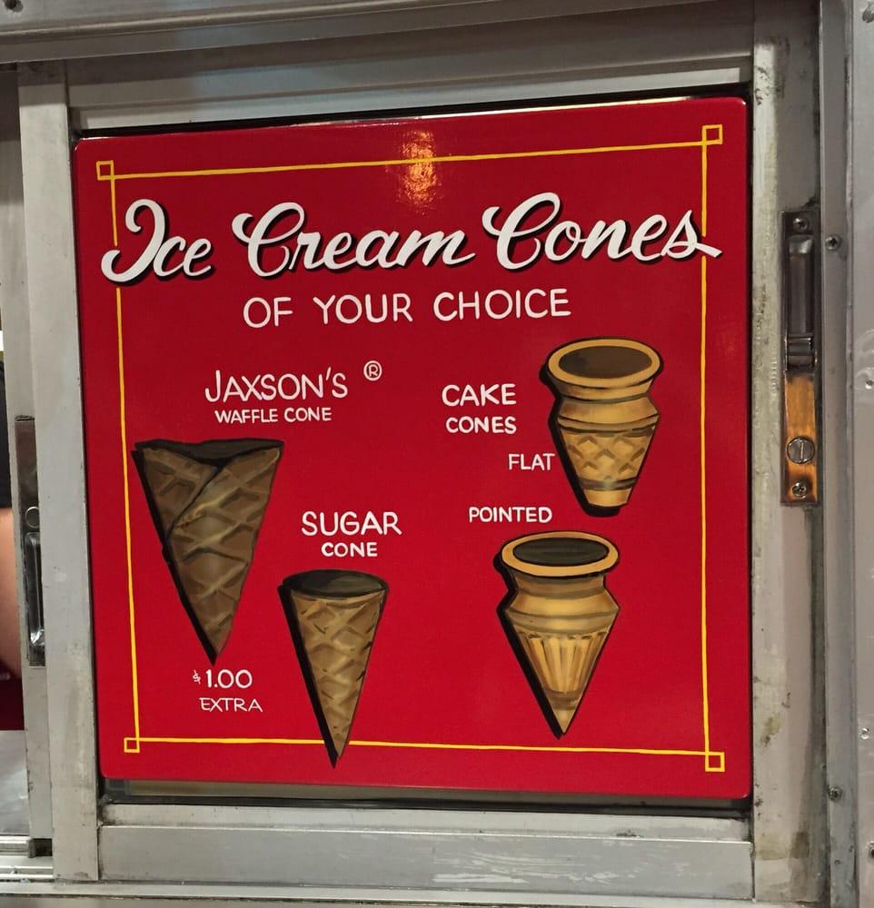 Jaxson's Ice Cream Parlor And Restaurant