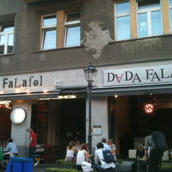 Summer evening and falafel.