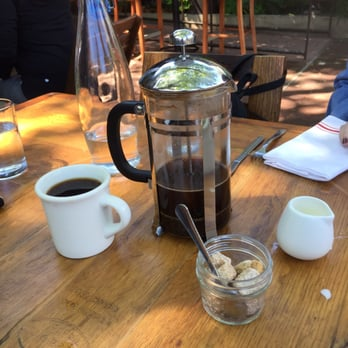 backyard forestville ca united states french press deliciousness