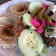 Taste of Lebanon Restaurant - Chicago, IL, United States. Vegetarian Combo #1