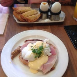 evgs benedict and dippy duck eggs