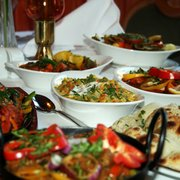 Selection of dishes at Edinburgh's The…