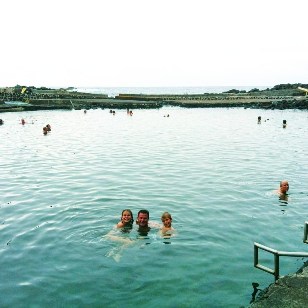 Alahanui Park Hot Spring Swimming Pools Pahoa Hi
