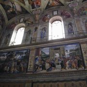 A Section of Michelangelo's Frescoe From…