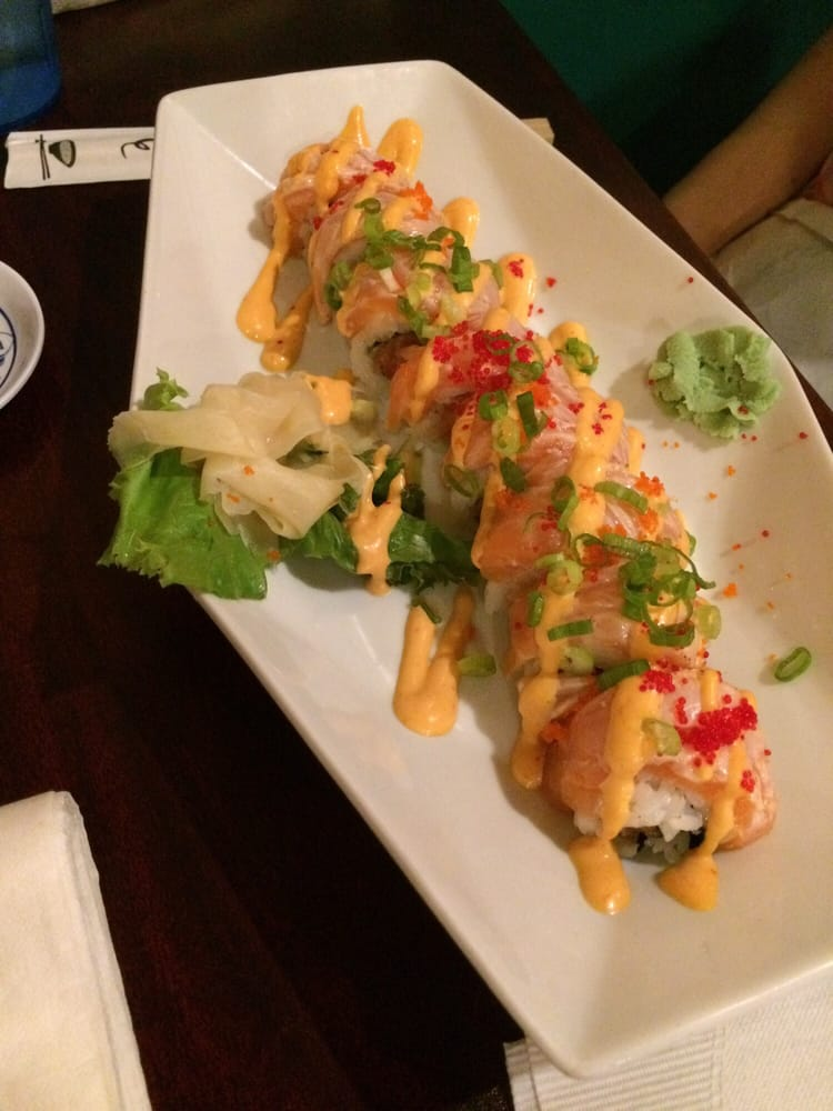 Geisha roll yelp for Mr fish seafood restaurant