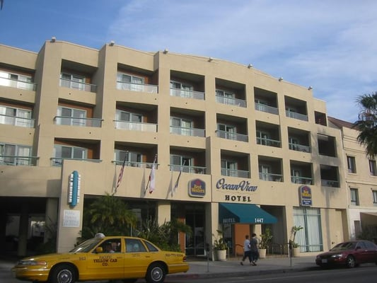 Best western ocean view hotel closed hotels 1447 for Dog hotel santa monica