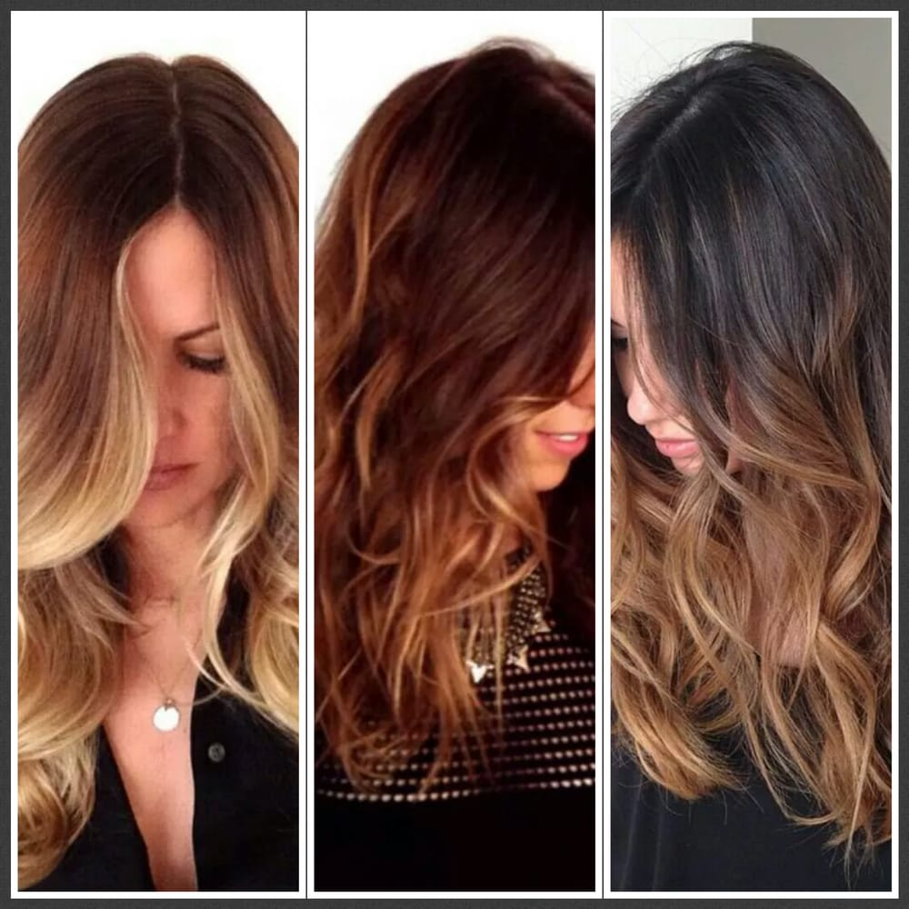 ... melt color, balayage for $185 including haircut ($250 value)..Book it