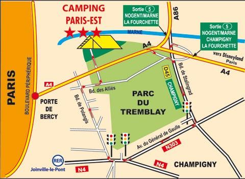 camping ile de france campgrounds boulevard des alli s champigny sur marne val de marne. Black Bedroom Furniture Sets. Home Design Ideas