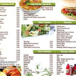 Latin american restaurant 16 photos latin american for American cuisine menu