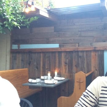 Boot & Shoe Service - Oakland, CA, United States. Outdoor patio and